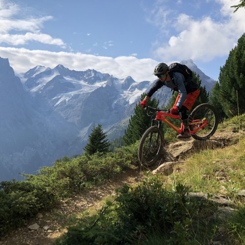 Bikeshuttle Alpencross Routen I